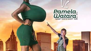 satiric interview between Teacher Kwadwo and Pamela Odame Watara