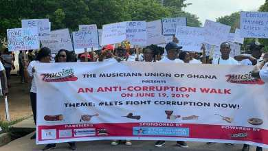 MUSIGA anti-corruption walk
