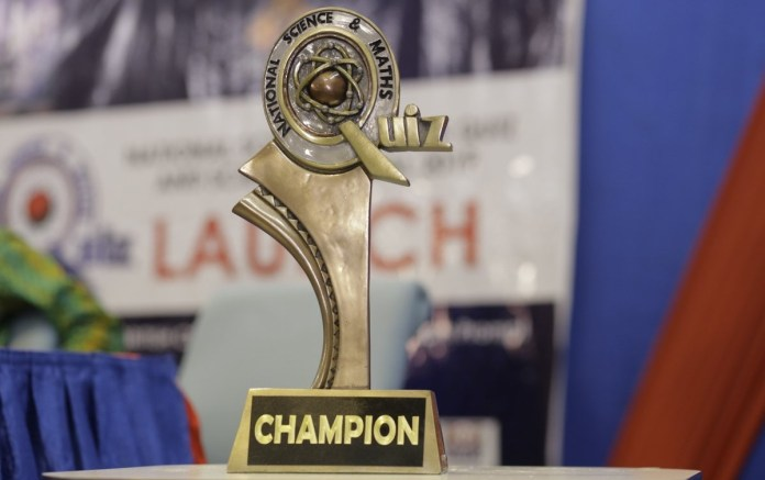 National Science and Maths Quiz trophy NSMQ 2019