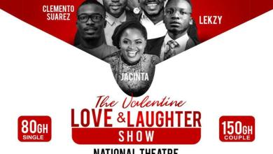 Love and Laughter Vals Day comedy