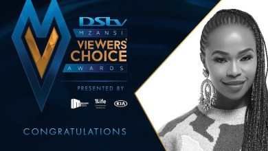 DStv Mzansi Viewers Choice Awards 2020 winners Sindi