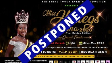 Miss Hotlegs Ghana Nigeria Africa 2020 postponed