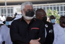 Jerry John Rawlings Burial Date