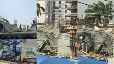 22-storey building collapse Airport