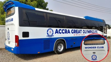 Accra Great Olympics new bus