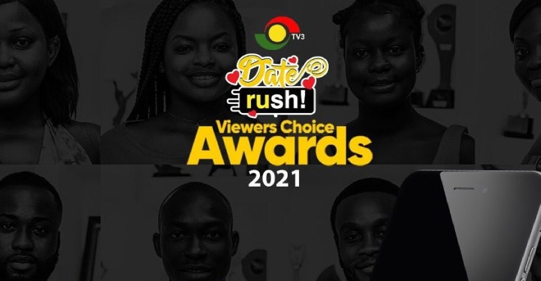 Date Rush Viewers Choice Awards 2021 watch live streaming