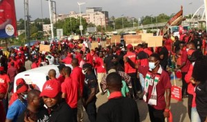 NDC Youth March For Justice protest demonstration