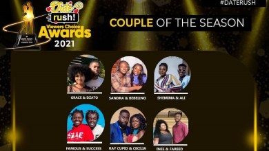 nominees Date Rush Viewers Choice Awards 2021 nominees