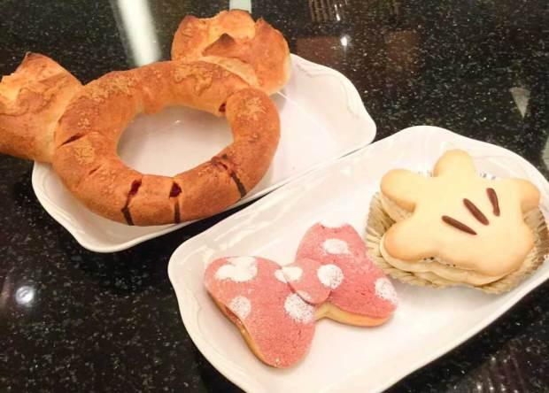 チックタックダイナーの可愛いディズニーキャラクターパン