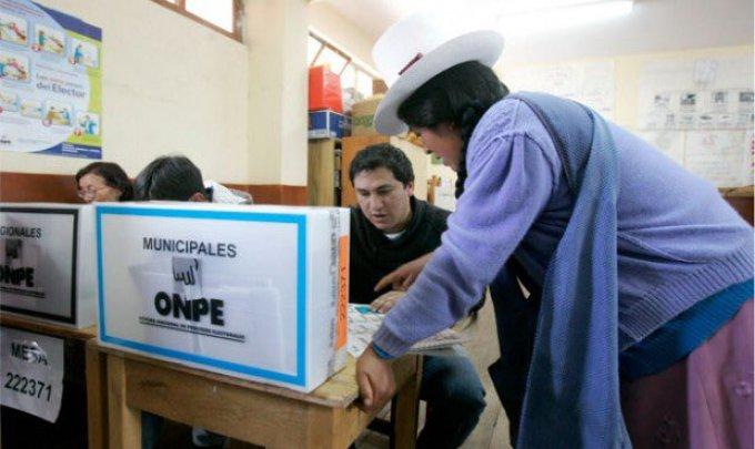 Votaciones Perú