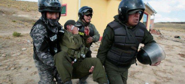 Bolivia mineros