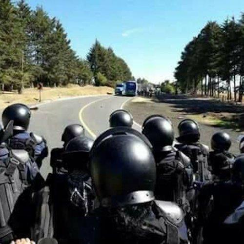 Arantepacua represión