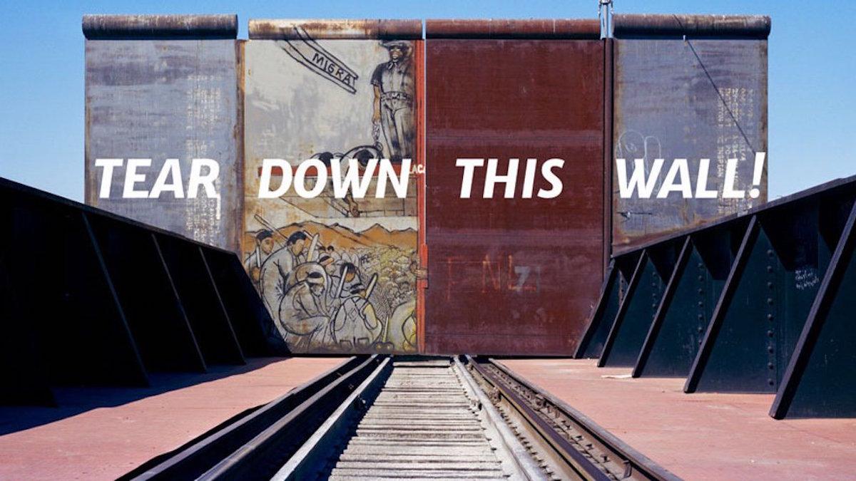 Frontera #teardownthiswall