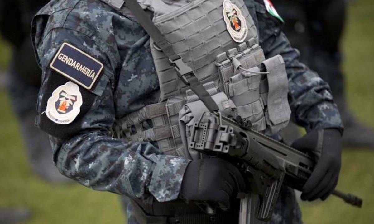 Gendarmería asalto