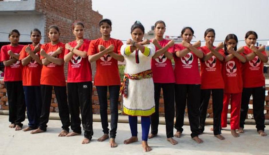 brigadas rojas, violadores, acoso, mujeres indias, mujeres rojas,