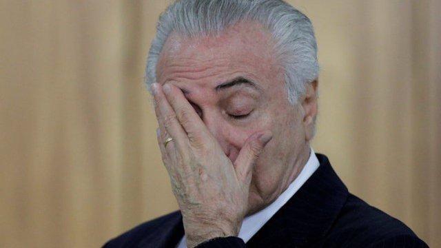 Juicio, Temer, Michel Temer, presidente brasil, temer llora,