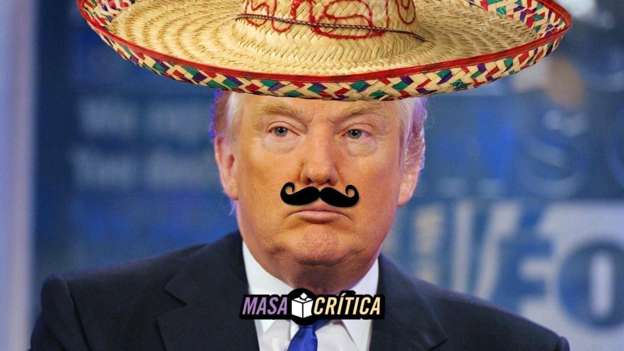 Bronco trump mexicano