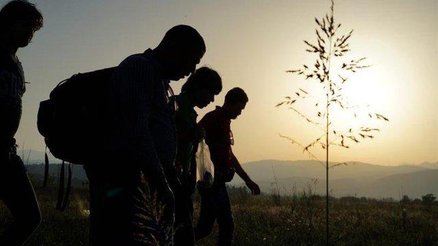 migrantes, refugiados, Centroamérica, frontera, frontera sur,