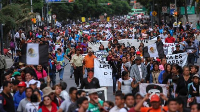 CNTE convoca a cinco mega marchas en el país