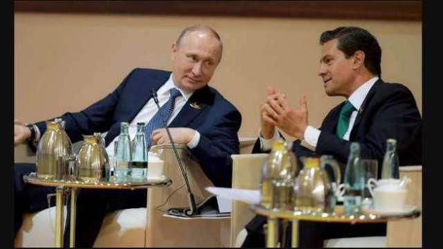 Putin y EPN dialogan en plena G20