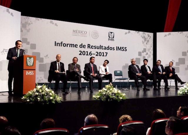 IMSS informe superávit