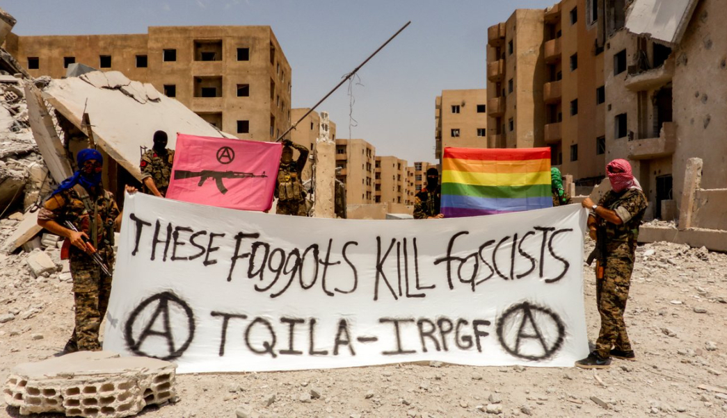 La unidad LGBT llamada TQILA contra ISIS en Siria.