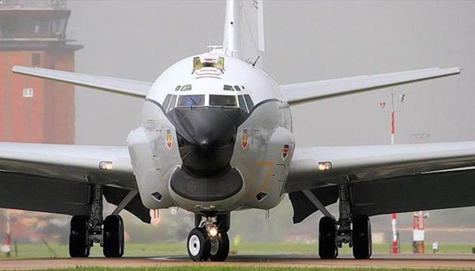 aeronave espía de Estados Unidos participaron en operativos en México