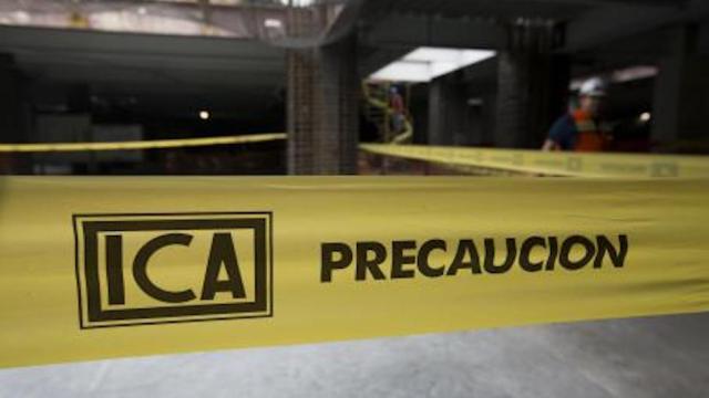 BMV suspende cotización de acciones de ICA