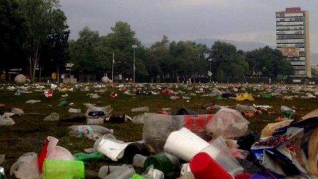 No más megapedas: difunde UNAM reglamento para actos en CU