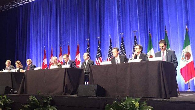 inician renegociaciones del TLCAN en Estados Unidos