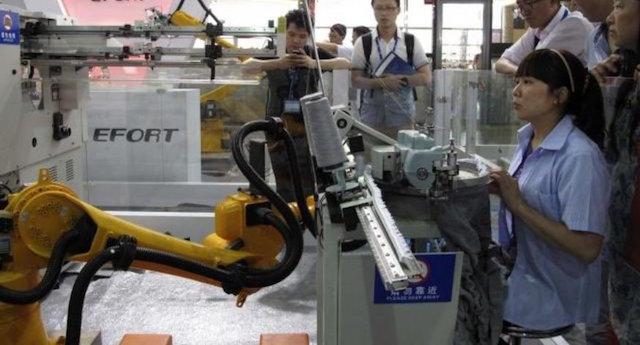 revolución robótica automatización