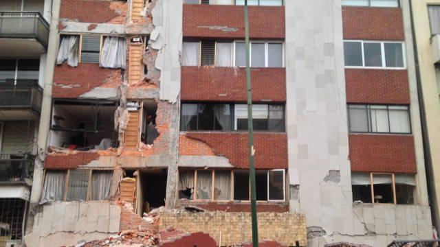 Lauro Cantú Patricio Sanz edificio 1985 2017