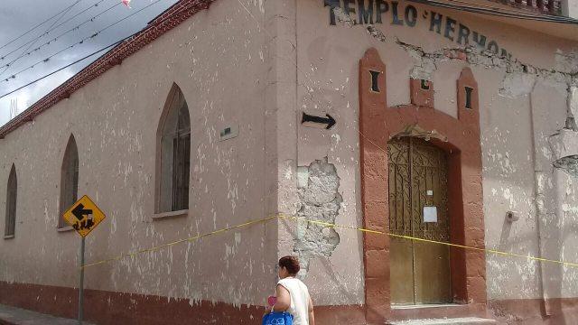 Jantetelco Morelos inmuebles dañados casa sismo brigadistas Graco