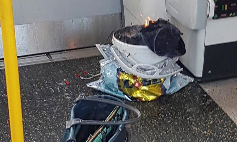 dispositivo explotó en metro de Londres: no hay muertos
