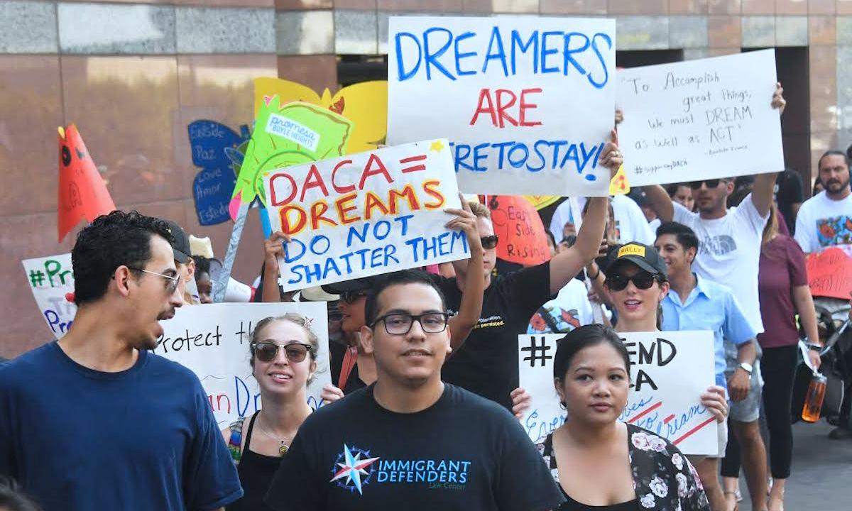 daca, dreamer, dreamers, trump daca, migrantes jóvenes, protesta migrantes