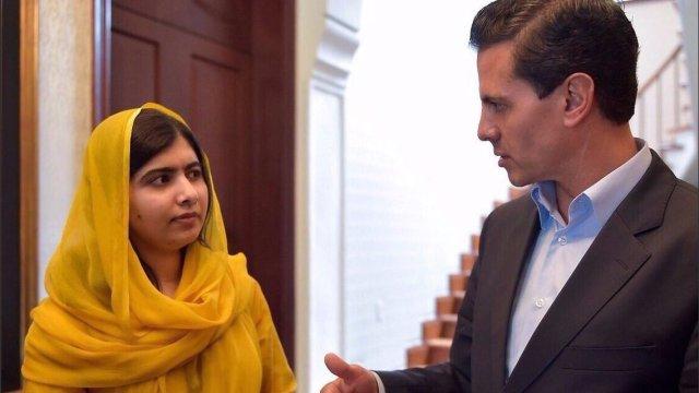 Malala Peña Nieto Tec de Monterrey vuelo