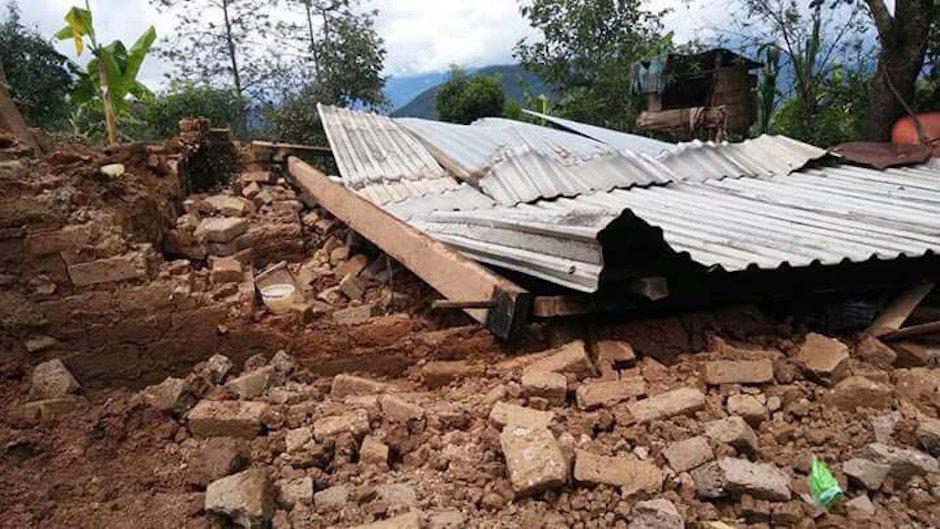 mixes, oaxaca, damnificados, mixes, sismo, terremoto, sierra oaxaca