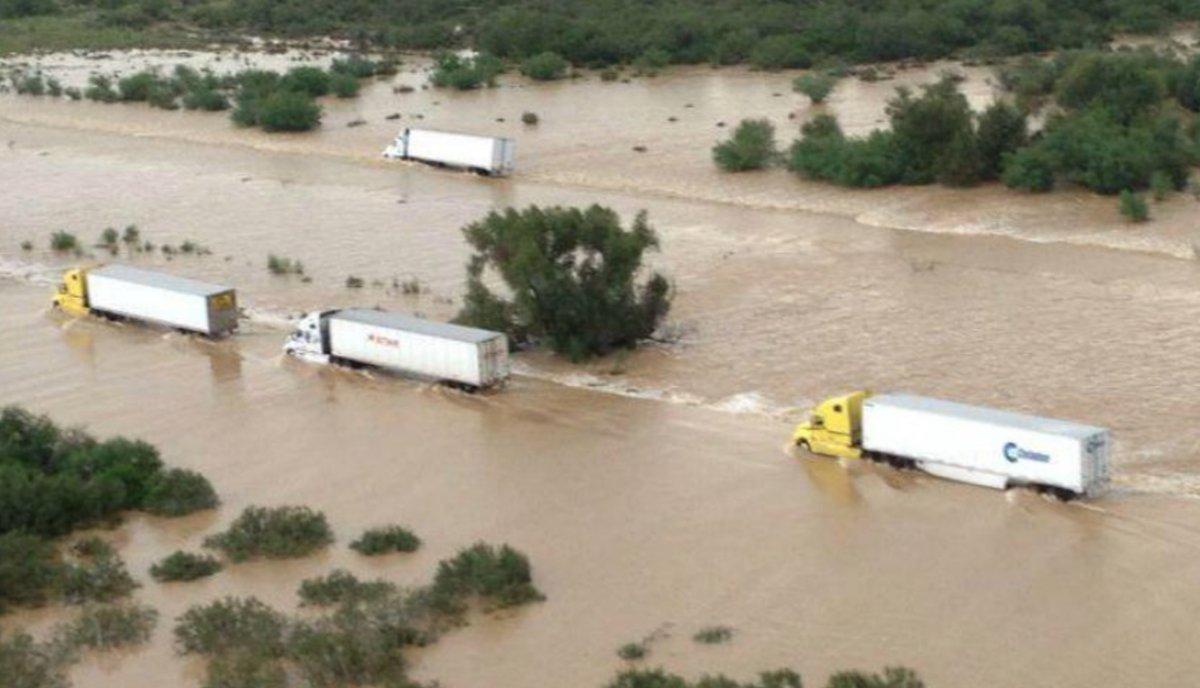 Lluvias e inundaciones intensas en Monterrey