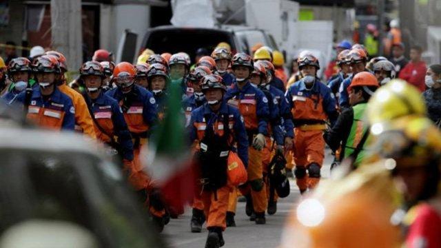 se despiden rescatistas japoneses, salvadoreños, hondureños panameños agradecimiento