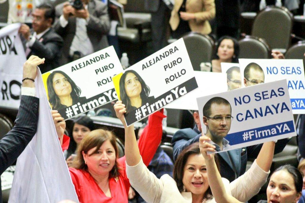 PAN, PRD y Morena, atacados por el PRI porque oportunistas