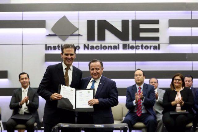 INE inicio proceso electoral 2018