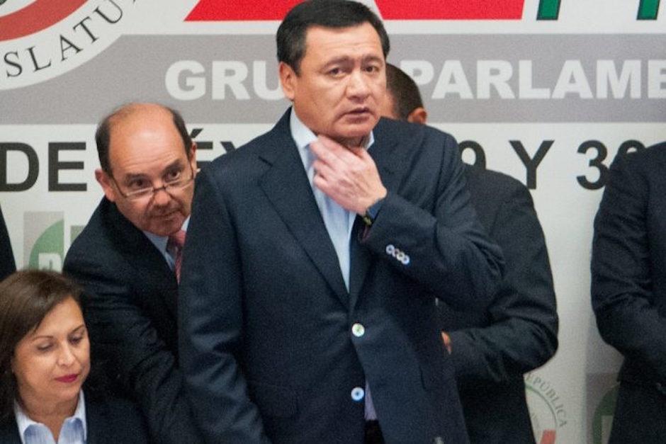 Osorio Chong rechaza invitación del congreso resolver crisis