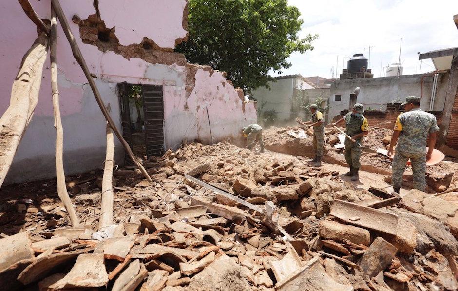 Sedatu cifras daños sismo Oaxaca Chiapas