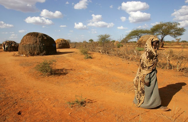 Sequía Etiopía hambruna