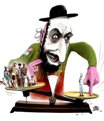 Caricatura antisemita moderna