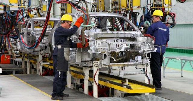industria automotriz productividad