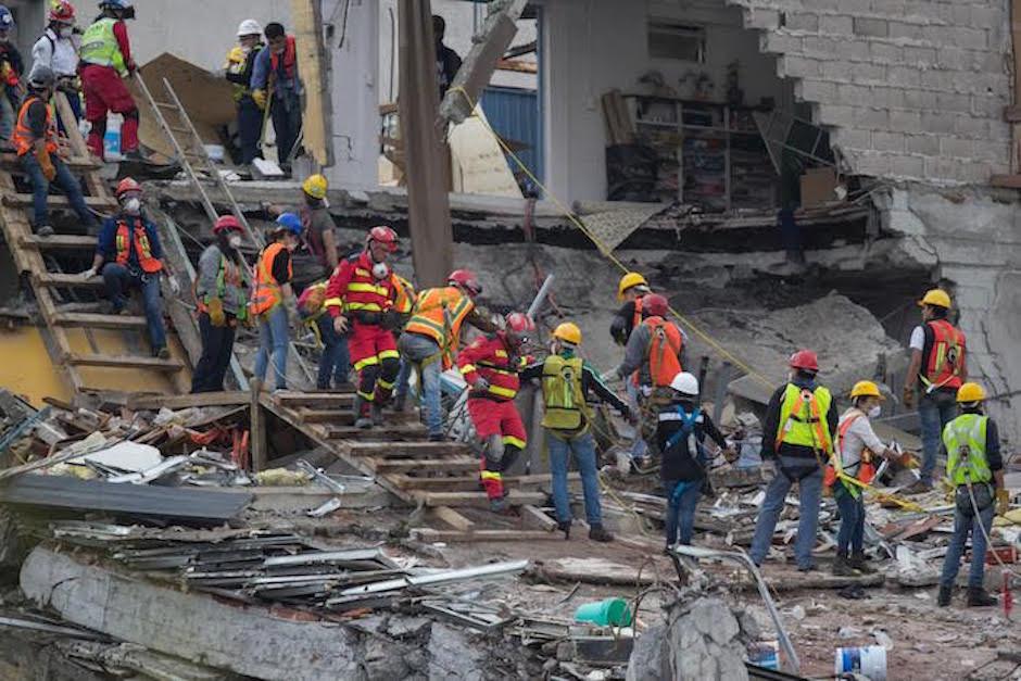 recursos para reconstruccion de zonas afectadas por sismos