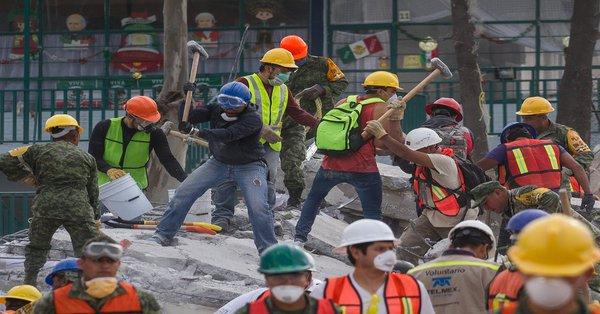sismo reconstrucción