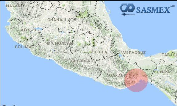 Sismo en CDMX, epicentro en Juchitán, de 5.6 grados