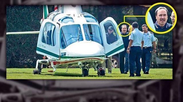 Gamboa Patrón viaja en helicóptero oficial para ir al golf